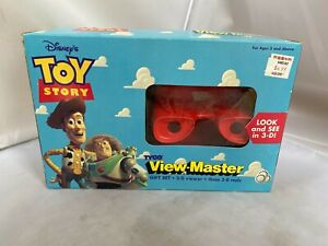 Disney's TOY STORY TYCO VIEW-MASTER GIFT SET 3-D viewer &3 reels SEALED NEW 1995