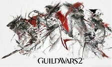 """Guild Wars 2 GW2 Game Poster 2 on Huge Silk Fabric Canvas 40""""x 24"""""""