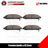 Front Premium Ceramic Disc Brake Pads For 2009-16 Toyota Venza