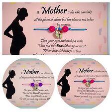La mamma da DESIDERIO Bracciale/Baby Shower Regalo/LOVELY BOMBONIERA * First Class Post *