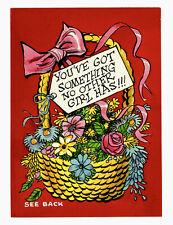 1950s JACK DAVIS original art Funny Valentines painting Topps No reserve!