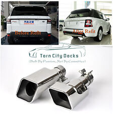 Exhaust Muffler Tip Pipe For Range Rover Gasoline Sports Stainless Steel 12-13