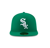 New Era 59Fifty Kelly Green/ White MLB Chicago White Sox Basic Fitted Hat