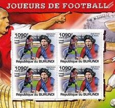 LIONEL MESSI (Barcelona) Football Player Stamp Sheet #3 of 5 (2011 Burundi)