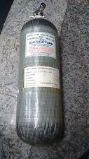 Carleton 4500psi 60min SCBA Carbon Fiber Cylinder air tank Mfr. Date 2003 # 6109
