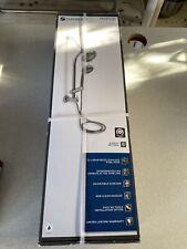 6-Spray Wall Bar Raincan Showerhead with 6-Spray Handshower in Chrome