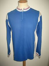 Moira blue vintage Holland jersey shirt cycling maillot maglia size 6, XL
