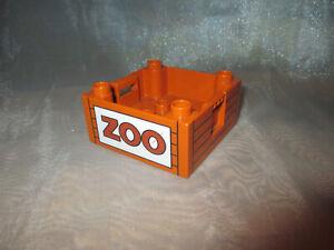 Lego Duplo Container Box  Zoo Ersatzteil aus 5594 4971  Top