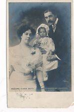 POSTCARD  ACTRESSES    Clara  Butt &  family