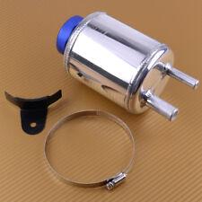 Aluminum Alloy Breather Tank Fuel Power Steering Tank Fluid Reservoir Tank Kit