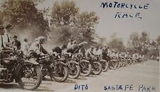 ANTIQUE INDIAN 1930 EXCELSIOR MOTORCYCLES HARLEY SANTA FE RACE WILLOW SPRINGS IL