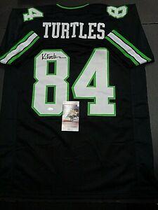 Kevin Eastman Teenage Mutant Ninja Turtles Creator Autographed Style Jersey JSA-