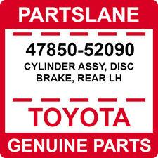 47850-52090 Toyota OEM Genuine CYLINDER ASSY, DISC BRAKE, REAR LH