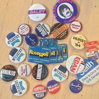 Collecton of VINTAGE ELECTION CAMPAIGN Pins Nixon Mayor Daley Humphrey/Muskie
