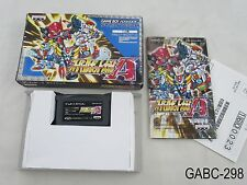 Complete Super Robot Taisen A Game Boy Advance Japanese Import GBA Wars Alpha C