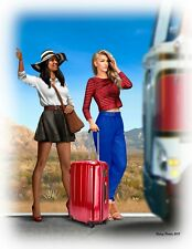 Masterbox 1:24 SCALE  - Truckers Series Erica and Kery - MAS24041