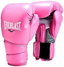 Everlast Protex 2 Boxing Gloves Pink Women Boxer Ever Last New 14 oz