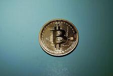 1x bitcoin physical commemorative coin pure copper 1oz .999