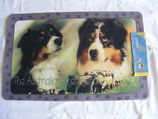 Tapis déco - chien  BERGER AUSTRALIEN  50 X 80 cm