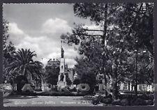 LECCE GALATINA 06 GIARDINI - MONUMENTO ai CADUTI Cartolina viaggiata 1960