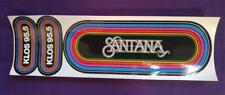 Santana Original Klos 95.5 Vintage 80's Rainbow Bumper Sticker