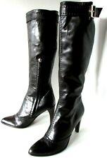 BOTTES A TALON HAUT 39 cuir noir luxe sexy authentiques LOUIS VUITTON femme TTBE