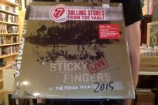 Rolling Stones From the Vault Sticky Fingers Live at the Fonda 3xLP + DVD sealed