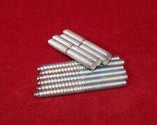 10 Stück Stockschrauben Stahl verzinkt M 4 x 40 mm
