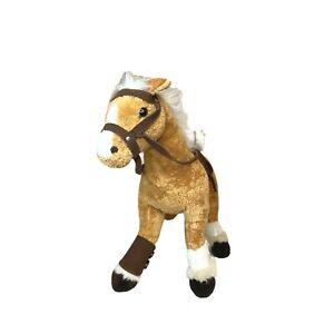 Bocchetta Brabanter Brown Horse Sahara Plush Animal Toy Belgian Draft Pony 40cm