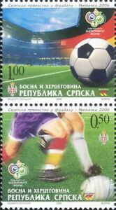 Bosnia Herzegovina 2006 Football World Cup/WC/Soccer/Sports/Games 2v set bhs1002