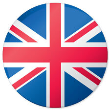 "United Kingdom BRITAIN Flag car bumper sticker 4"" x 4"""
