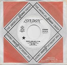 ZZ TOP  Enjoy And Get It On  rare promo 45 from 1976