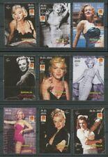 Marilyn Monroe Movie Star mnh set 9 stamps 2001 Somalia 75th Birth Anniversary