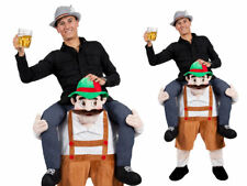 Adults Carry Me Bavarian Beer Guy Costume German Beer Oktoberfest Fancy Dress