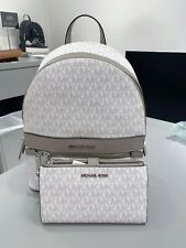 Michael Kors Kenly Medium Backpack - White