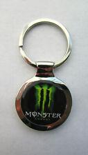 Monster Key Chain, Monster Energy Logo Keychain, Monster Keychain