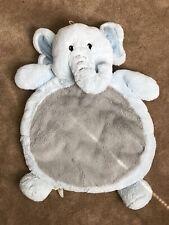 Mary Myers Bestever Baby Mat Elephant Blue