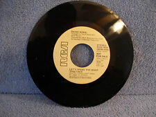 David Bowie, Let's Spend The Night Together, RCA Records DJH0-0028, 1973, Rock