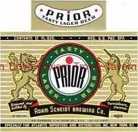1930s Fink/'s Wurzburger Beer Label Tavern Trove Harrisburg Pennsylvania