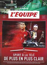 L'EQUIPE MAGAZINE n°1850 30/12/2017  Sport à la tv/ Calendrier 2018/ Les vieux
