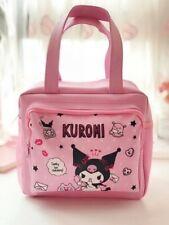 Kuromi Doraemon gudetama Lunch Bags Cartoon Picnic Bag Food Box Warm cartoon new