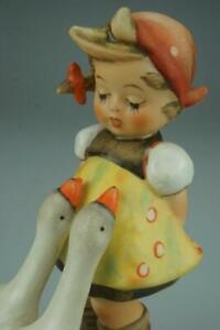 M.I. Hummel Goebel Figurine Goose Girl #47/0 TMK5 Figurine 1972/1979