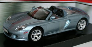 MotorMax 1/24 Scale Metal Model 73305 - Porsche Carrera GT - Lt Met Blue