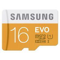 Samsung Evo 16GB High Speed Class 10 Memory Card Micro-SDHC for Smartphones