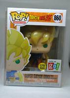 Funko Pop! Dragon Ball Z- Super Saiyan Goku #860 Go Calendar Exc. W/ Protector