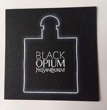 Jolie Carte Parfumée Black Opium White De Yves Saint Laurent