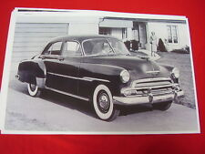 1951 CHEVROLET STYLELINE DELUXE 4DR 11 X 17  PHOTO  PICTURE