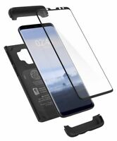 Galaxy S9 Case, Spigen Thin Fit 360 Cover Case - Black