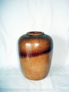 Königswinter Art Deco Keramik Vase, 1948, signiert
