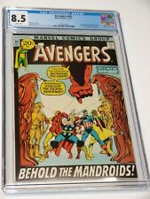 Avengers #94 Neal Adams Cover CGC 8.5 WHITE High Grade Bronze Age Marvel Comics